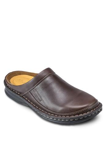 esprit台灣JACOB 經典圓頭懶人拖鞋, 鞋, 鞋
