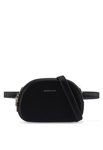 Milliot & Co. 黑色 Summer Multi Purpose Bag D6B01ACC0B8E13GS_1
