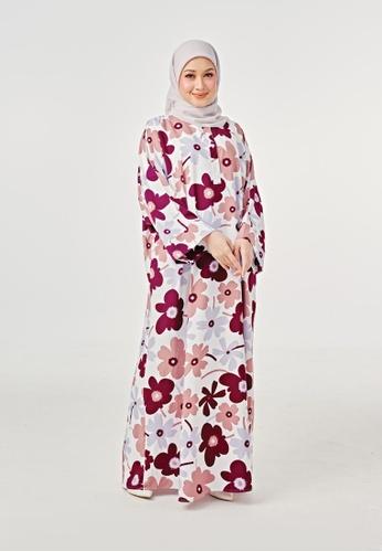 Imaan Boutique green Yoori Kaftan 5.0 Jennie A049EAA984F5D4GS_1