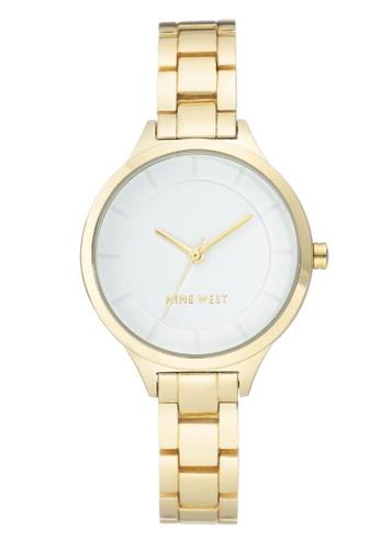 Nine West gold Nine West  Bracelet Women's Watch NW-2224WTGP C7075ACEBB2D52GS_1