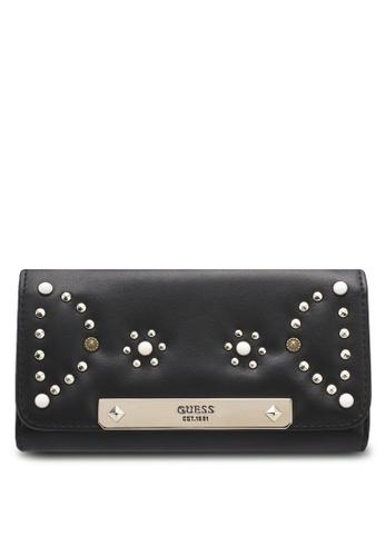 Guess black Britta Slim Wallet A2BA6AC37DF6DEGS_1