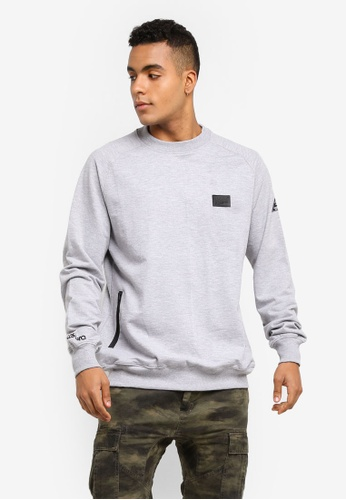 Costura grey Slate Sweatshirt CO031AA0SZAWMY_1
