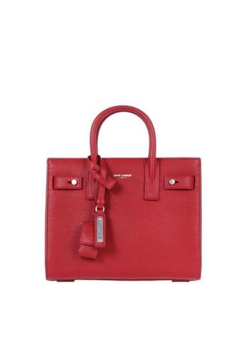 SAINT LAURENT red SAINT LAURENT NANO SAC DE JOUR SOUPLE BAG B6AA7AC3B51E7DGS_1