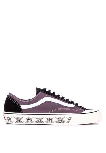 Vans black and purple and multi Skulls Style 36 Decon SF Sneakers F2154SH0FCDAAEGS_1
