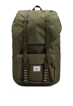 7ea4305ae1f Herschel green Little America Backpack B9266ACC9C34F2GS 1