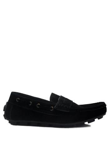 D-Island black D-Island Shoes Slip On Mocasine Casual Loafers Black DI594SH58KOVID_1