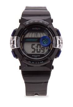 Unisex Rubber Strap Watch MXPO-699C