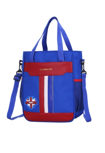 Twenty Eight Shoes blue VANSA Pu Nylon Hand Bags VAK-LbBX6 AC5EFKCDD4D9F8GS_1