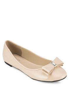 【ZALORA】 Felicia 蝴蝶結平底鞋