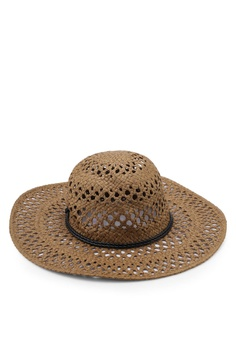 b261f02102d8e9 48% OFF Vero Moda Kenna Straw Hat RM 119.00 NOW RM 61.52 Sizes S/M M/L