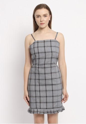 Modemaya grey Emily Dress 587C6AA03345F5GS_1