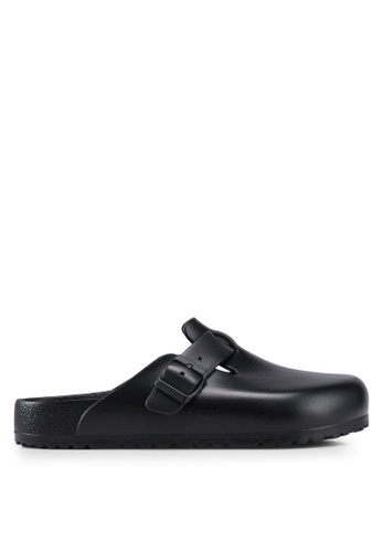 Birkenstock black Boston EVA Sandals 64DDFSH312F561GS_1