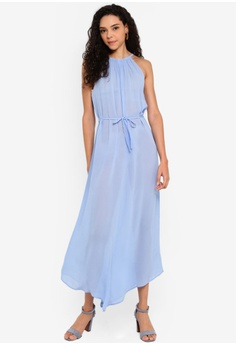 fda4ff3d43eec 10% OFF Miss Selfridge Sheer 90s Maxi Dress S$ 89.90 NOW S$ 80.90 Available  in several sizes