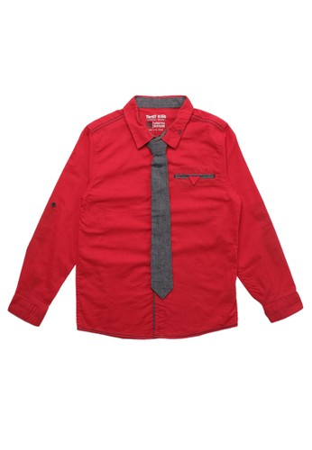 Twist Kids red Pj 2695 C Polos Hselling 49278KA4808235GS_1