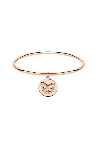 Morellato gold Cerchi Bracelet SAKM51 Steel Pvd Rose Gold Crystals D6D35AC165105BGS_1