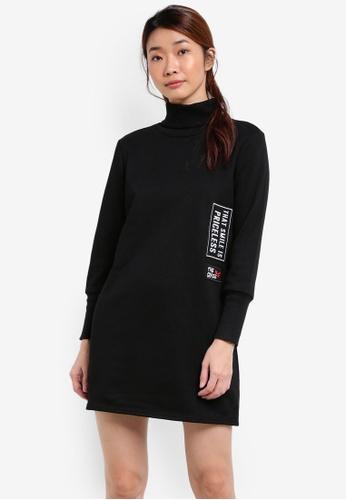 Something Borrowed black Extreme Cuff Sweater Dress 6A34DZZ928D557GS_1