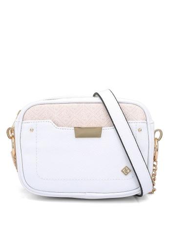 Call It Spring white Sightede Crossbody Bag 0D861ACD814EBDGS_1