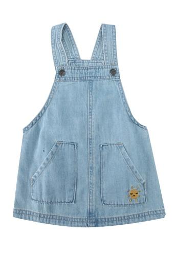 FOX Kids & Baby blue Baby Girl Dress B0E8CKADDA0716GS_1