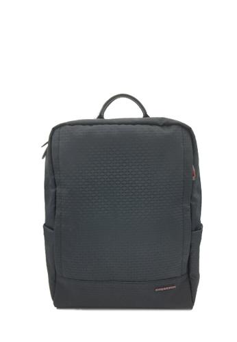 Goldlion black Traveler Backpack AA425AC53DABABGS_1