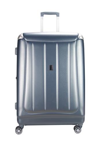 Airways blue Airways 24 inch 8 Wheels Trolley Hard Case Luggage - ATH 7902 LIGHT BLUE 06B34AC440061FGS_1