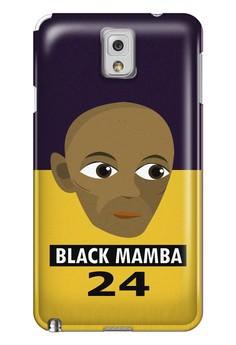 Black Mamba Matte Hard Case for Samsung Galaxy Note 3