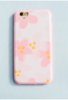 Flower Painting Soft Case for iPhone 6/6s