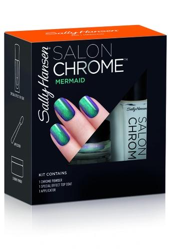 Sally Hansen green Chrome Powder Kits - Mermaid 3DDDFBEF35B7B7GS_1