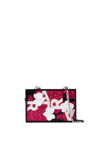KARL LAGERFELD pink Karl 3d Orchid Minaudiere 66224ACB962260GS_1