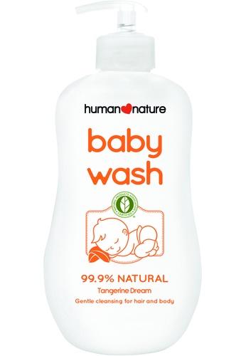 Human Nature n/a 490ML Baby Wash - Tangerine Dream HU123BE0JPYLPH_1
