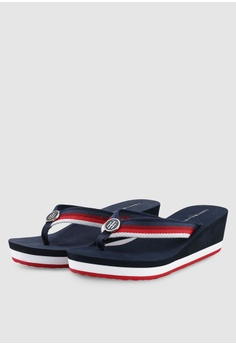 30d2f5bd 30% OFF Tommy Hilfiger OMBRE EFFECT BEACH SANDAL RM 289.00 NOW RM 202.30  Sizes 36 38 39 40