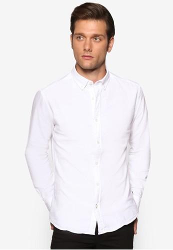 簡約長袖襯衫、 服飾、 襯衫ESPRIT簡約長袖襯衫最新折價