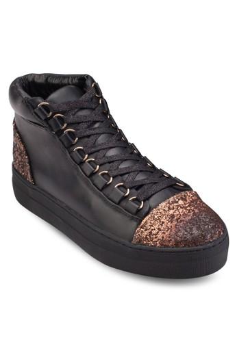 Adisa 閃飾zalora時尚購物網的koumi koumi高筒運動鞋, 女鞋, 鞋