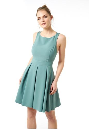 Jimmy Sanders 綠色 Jimmy Sanders Women's Dress 4CCDEAA3738FB7GS_1