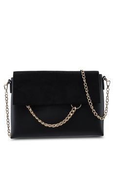 1ee3fd49f Dorothy Perkins black Black Chain Ring Clutch Bag 09F05AC38A4C8FGS_1