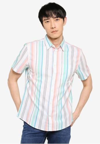 GAP multi Slim Fit Poplin Shirt 7D038AA994A909GS_1