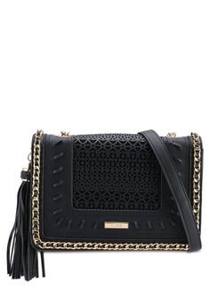 31a8e462e93 ALDO black Trenzano Crossbody Bag 55CC9ACC7AC0E3GS 1