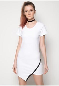 Daily Asymmetrical Dress