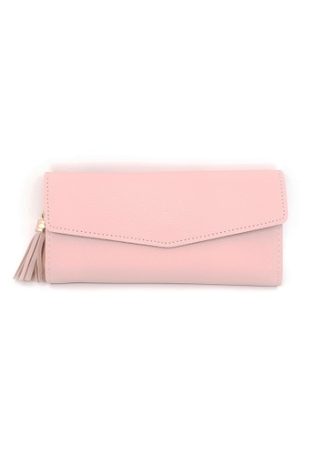 97bfff5294b BELLE LIZ pink Heart Shaped Pendant Ladies Purse Light Pink  0F000ACA25063BGS_1