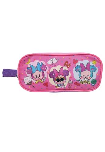 Disney Minnie Disney Minnie Too Cute Double Zip Pencil Bag 65A9EKCE5F0807GS_1