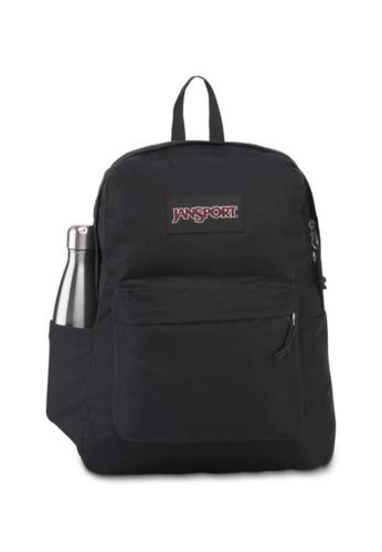Jansport black Jansport Unisex SuperBreak Backpack Black - 26L ED8FAAC8F27CB4GS_1