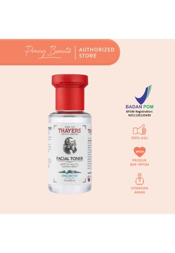 Thayers red Thayers Witch Hazel Facial Toner - Unscented 89ml 6BE78BEFAD04C8GS_1