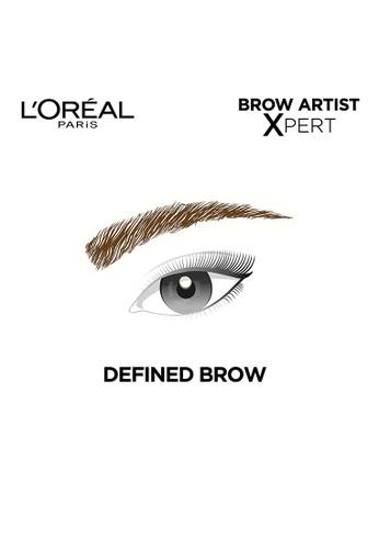 c5a73dc4074 Shop L'Oréal Paris Brow Artist Xpert 2-in-1 Brow Pencil- 108 Warm Brunette  Online on ZALORA Philippines