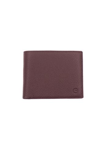 Goldlion brown Goldlion Men Leather Wallet (4 Cards Slot, Coin Pouch) B3D17AC4F16DC4GS_1