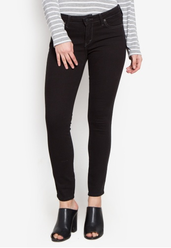 Stylistic Mr. Lee black Ladies Extreme Skinny Pants (Low Rise) With Overdye Black MR206AA0KEV6PH_1
