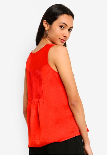 FORCAST red Vivian Sleeveless Top 93673AAF592C74GS_1
