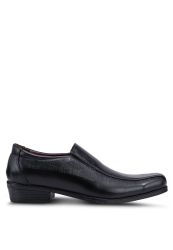Rocklander black Slip On Formal Shoes 55EC4SH74834C6GS_1