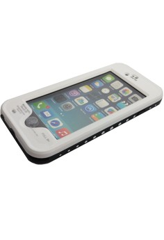 iPhone 6 Waterproof Case by Red Pepper (White)