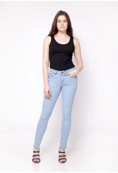 bcb7fb40 nicole blue nicole Denim Slim Jeans 41E14AA9334D56GS_1