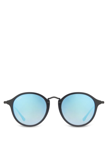 26071f6b1ca Buy Ray-Ban Round Fleck RB2447 Sunglasses Online on ZALORA Singapore