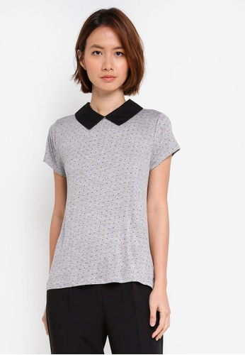 OVS grey Woven Blouse EE42FAA75DB7DBGS_1